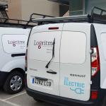 Logaritme incorpora a su flota vehículos eléctricos